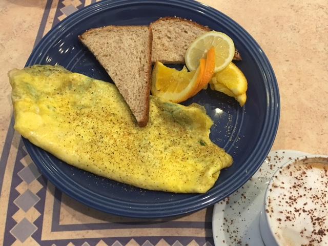 The Woodlands Grourmet Bakery Cafe Omelette