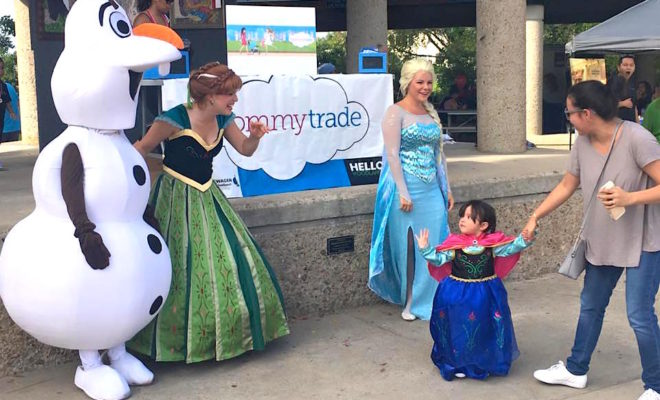 Frozen Family Day Out The Woodlands Event Mommy Trade