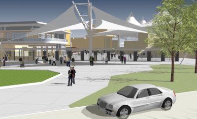 Cynthia Woods Mitchell Pavilion Construction 2016