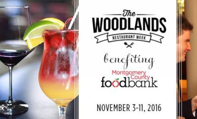 the woodlands restaurant week 2016