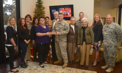 Service Men and Women Based in Conroe Get Holiday Cheer From RE/MAX The Woodlands & Spring