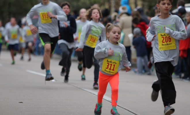 Kids Running For In The Woodlands