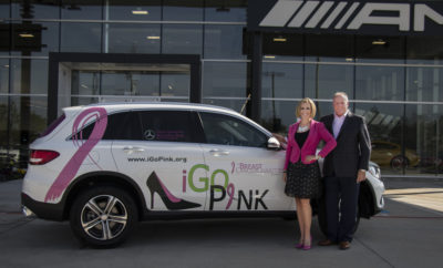 Mercedes-Benz of The Woodlands Goes All In to Support Local Breast Cancer Charity igopink