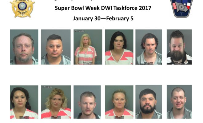 Super Bowl DWI Arrests by Montgomery County Police   Hello