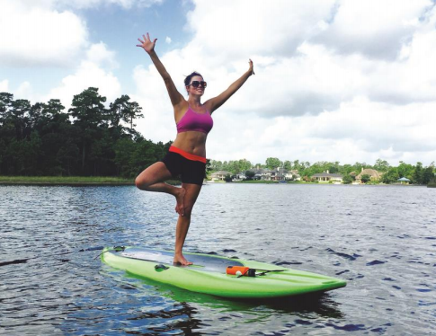 Stand-up paddle board yoga classes now available at Riva Row Boat House