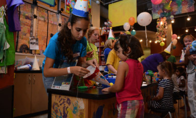 the woodlands childrens museum birthday