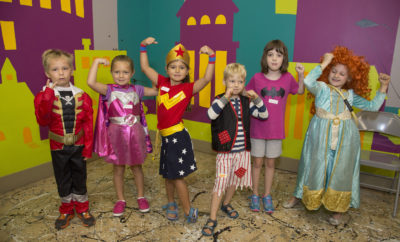 Super Hero Day The Woodlands 2017