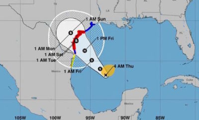 tropical storm harvey updates
