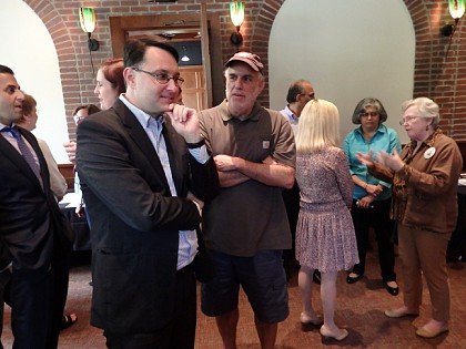 """The first annual """"meet and greet"""" reception for all of the candidates who filled for the upcoming November election for The Woodlands Township Board of Directors was held Wednesday, September 27, 2017 from 4:30 to 5:45 at The Black Walnut Café in The Woodlands."""