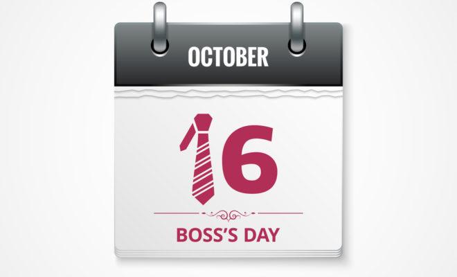 boss day calendar celebration october 16 2017