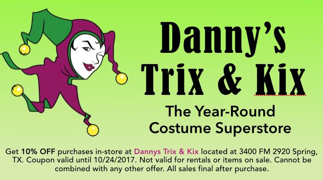 Dannys Trix Kix Costume Halloween