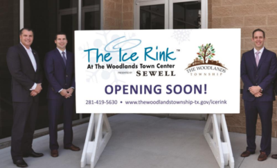 The Ice Rink at The Woodlands Town Center Presented by Sewell