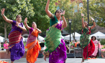 Hindu Dancers The Woodlands Cultural and Heritage Festival