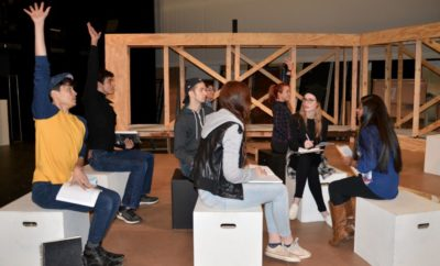 "Lone Star College-Montgomery Drama Department examines what might happen if we actually could during its fall play ""The Rise and Rise of Daniel Rocket."""