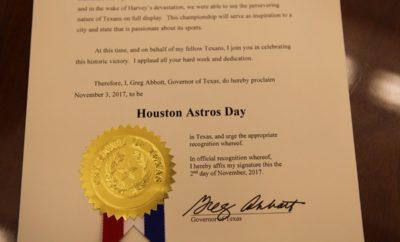 Houston Astros Day