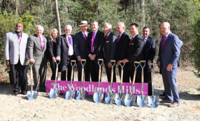 The Woodlands Hills Ground Breaking Howard Hughes Corporation November 15 2017