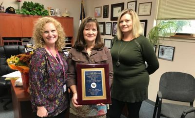 County Judge Craig Doyal has announced that the Montgomery County Veterans Service Office has launched a new program that will expand its ability to assist veterans, their dependents and survivors with claims. Veterans Service Office Director Kay Lee was also recently honored with a prestigious state award for her work.