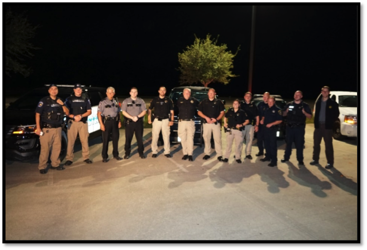 Several of the Deputies participating in the Task Force.