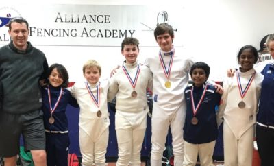 Fencers from Alliance Fencing Academy brought home 52 medals from USFA-sanctioned National, Regional and International competitions in November.