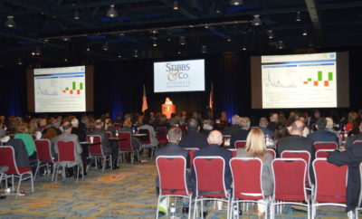 The 2017 Economic Outlook Conference filled the first floor at The Woodlands Waterway Marriott Hotel & Convention Center