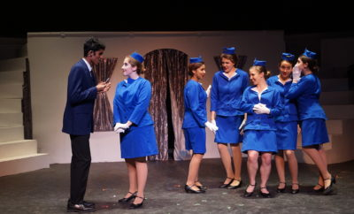 """THE WOODLANDS, TX - The Woodlands College Park Performing Arts Department presentsthe """"Catch Me If You Can, The Musical"""" directed by Valerie Roberts Labonski with performances at The Woodlands College Park Auditorium on Thursday, January 25 through Saturday, January 27, 2018."""
