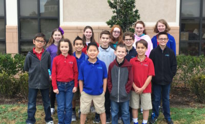 5 students from The Woodlands Methodist School have qualified to compete against students from 27 Houston and surrounding area schools in the ACSI Math Olympics Area Event.
