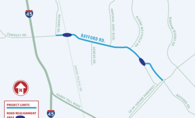 rayford road project montgomery county