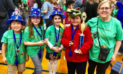 TWMS Students win first place in Destination Imagination's Scientific Category