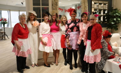 At Canopy Cancer Survivorship Center, volunteers came together to host the 2nd Annual Valentine's Day High Tea for guests who are currently battling cancer and cancer survivors on February 14, 2018.