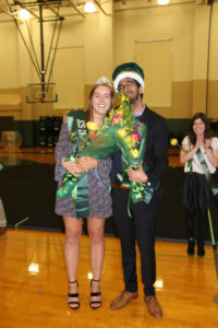 2018 Dragon King and Queen,Anne Sophie Albers and Gurtej Gill