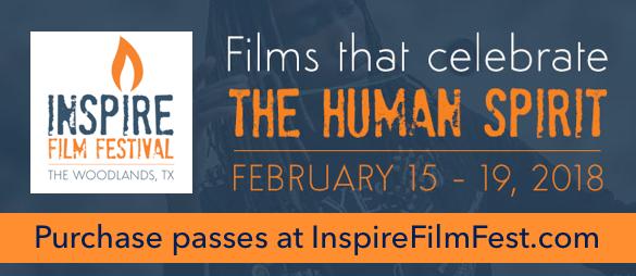 inspire film festival banner