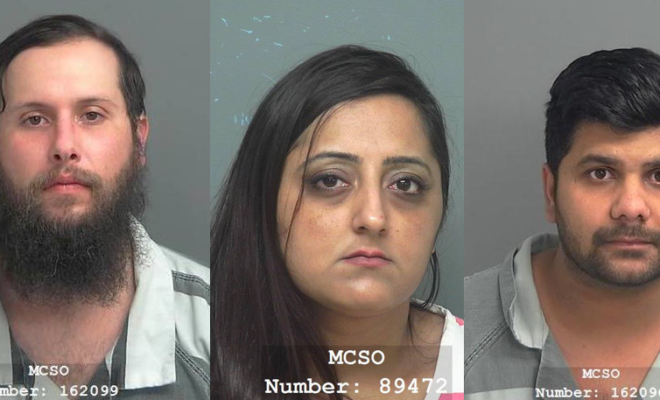 Sheriff's Office Investigating Gambling Operation Arrests Three for Engaging in Organized Crime
