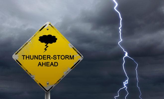 thunderstorm warning weather lightning