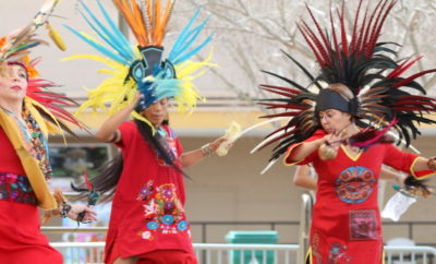 One of the events at Rising Stars and Legends of Texas included a live performance by Danza Chikawa Dance, a free event that was open to the public, on Saturday, March 10 at Founder's Plaza Park.
