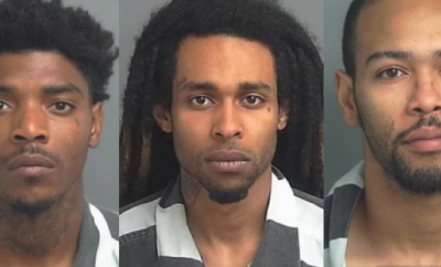 Sheriff's Office Arrest 3 males for Aggravated Robbery and Drug Charges