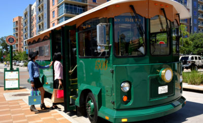Town Center Trolleys Expand Service to Hughes Landing