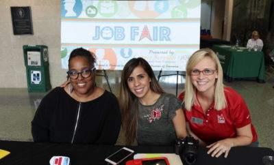 The Woodlands Area Chamber of Commerce hosted a Community Job Fair on Wednesday, May 2nd, 2018 from 10:00am to 2:00pm at Sam Houston State University The Woodlands Center at 3380 College Park Drive in The Woodlands, first floor.