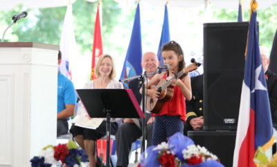 memorial day service 2018 the woodlands forest park