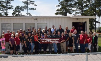 MAGNOLIA, TEXAS - Leadership Montgomery County (LMC) Class of 2018, comprised of 45 leaders in the County, adopted Society of Samaritans (SOS) as their class project.