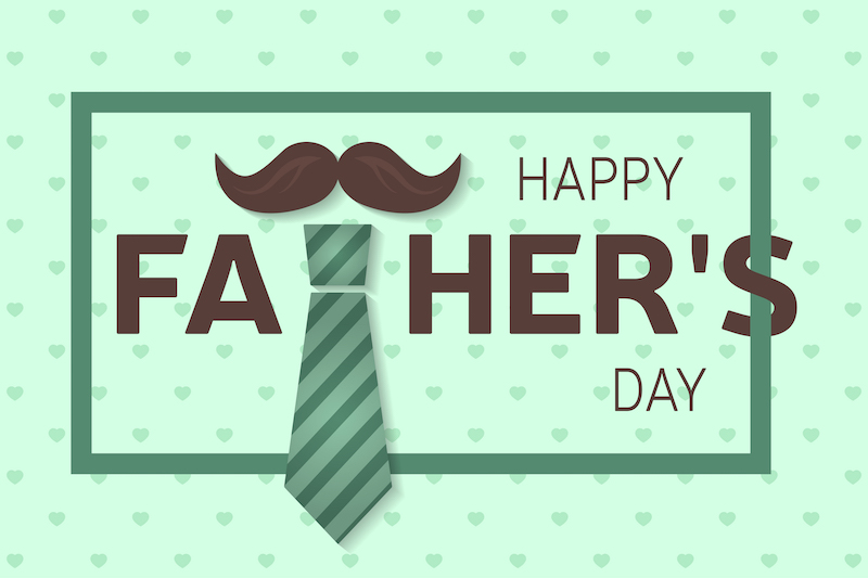 Happy fathers day greeting card happy fathers day poster vector happy fathers day greeting card happy fathers day poster vector illustration m4hsunfo