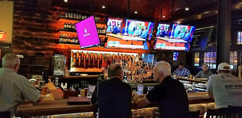 Bar at Craft Grill