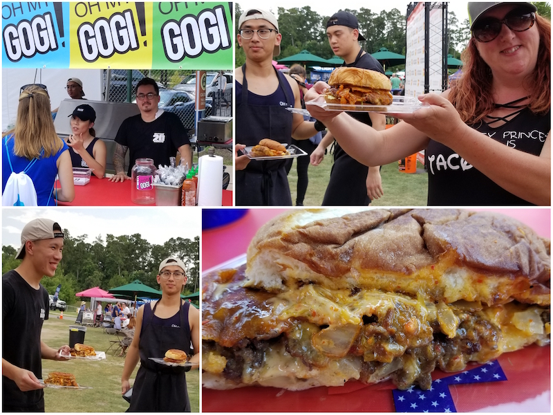 Oh My Gogi, owner Nathan Chang and his team presented the Gogi Burger