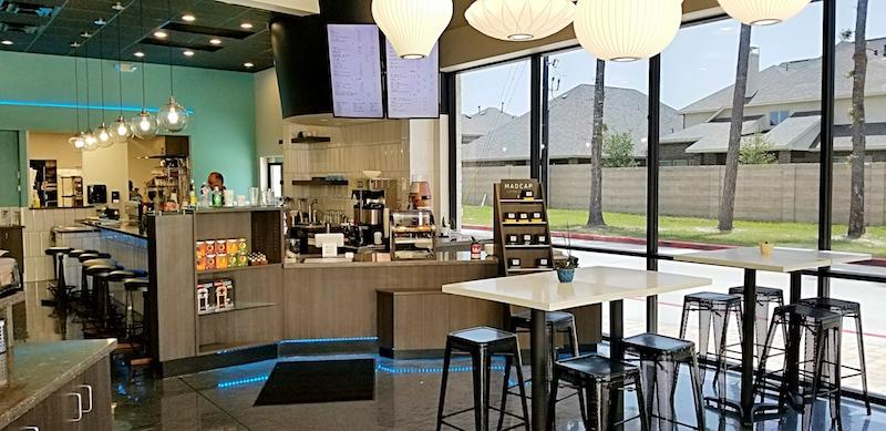 Interior of Momentum Coffee