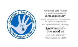 Childrens Safe Harbor Luncheon 2018