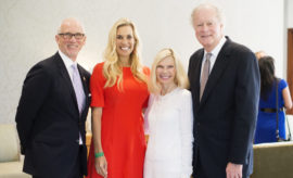 THE WOODLANDS CELEBRATION OF EXCELLENCE GALA ANNOUNCES 2018 CHAIRS honorHometown Heroes and celebrate Interfaith's 45 Year Anniversary