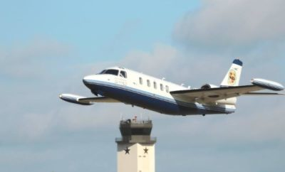 "Conroe/North Houston Regional Airport (CNRA), located north-east of downtown Conroe, has hit record numbers of inbound and outbound flights and is quickly becoming known as ""the hub of business travel,"" according to Airport Director James Brown."