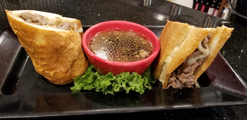 French Dip at Omega Grill