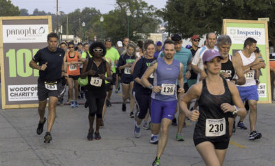 Woodforest National Bank and the City of Conroe announce registration is open for the 9th Annual Woodforest Charity Run scheduled for Saturday, September 22 at Heritage Place Park in downtown Conroe.