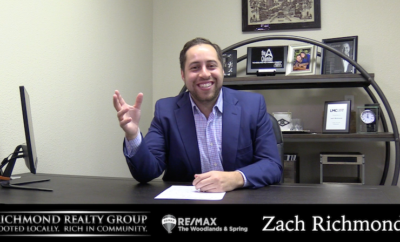 Zach Richmond Richmond Realty Group RE/MAX The Woodlands & Spring