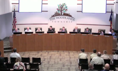 the woodlands township board meeting september 20 2018